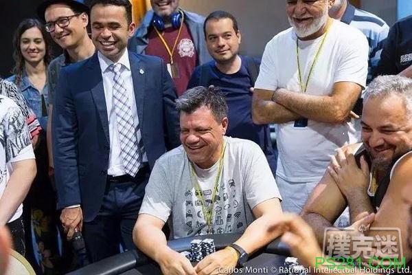 【6upoker】业余选手Paulo Milani两次赢得扑克之星白金通行证