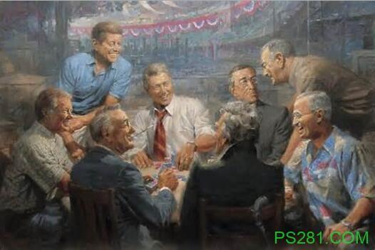 【6upoker】与美国总统有关的扑克传说