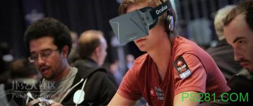 【6upoker】太酷了!利用VR直播打扑克