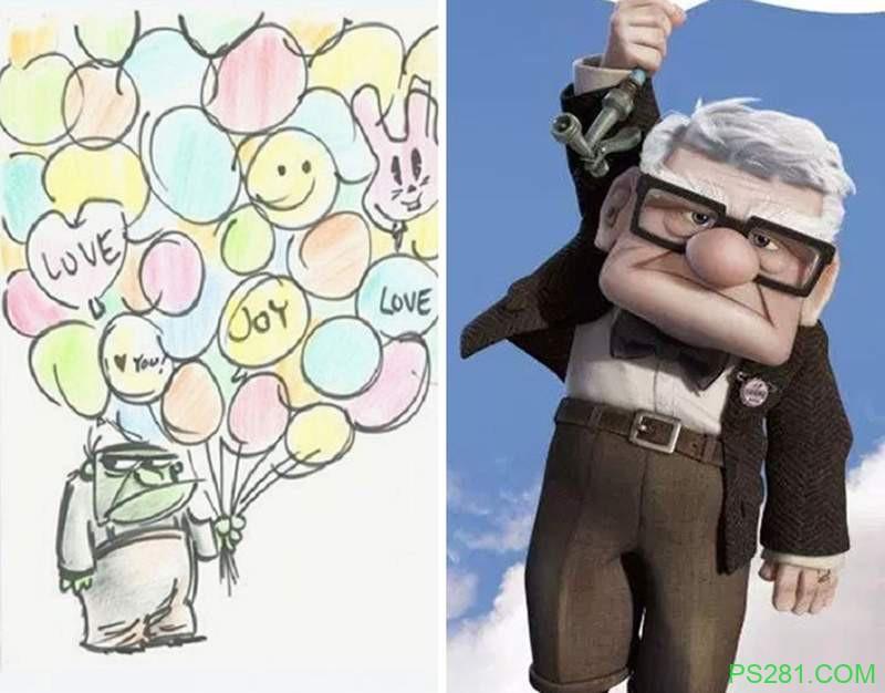 【6upoker】迪士尼经典角色原始概念图 阿拉丁与概念图差异大