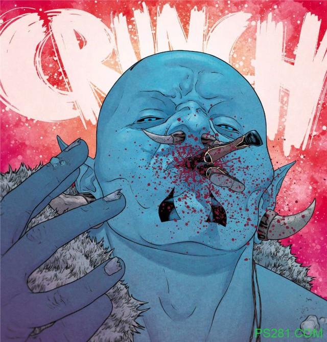 【6upoker】《十界之战》第一期漫画 洛基被亲生父亲吃掉了吗