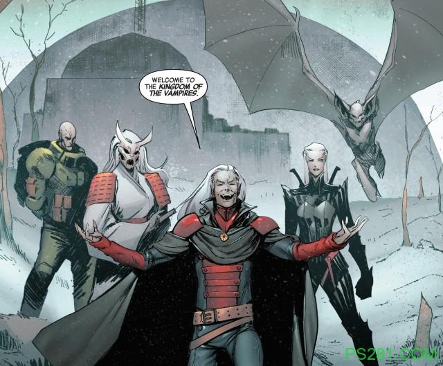 【6upoker】德古拉挑起吸血鬼族群内战 获得新土地成立新吸血鬼王国