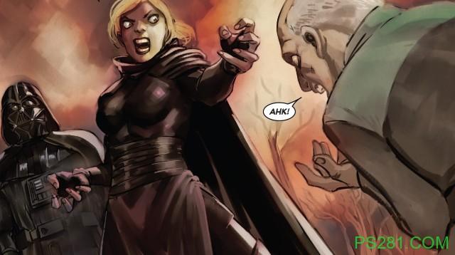 【6upoker】星球大战帝国女兵迷恋达斯·维达 医护兵却被暗恋黑武士杀死