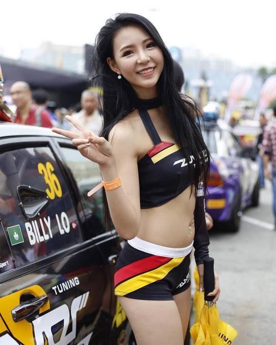 【6upoker】第63届澳门格兰披治大赛 性感赛车女郎看不完