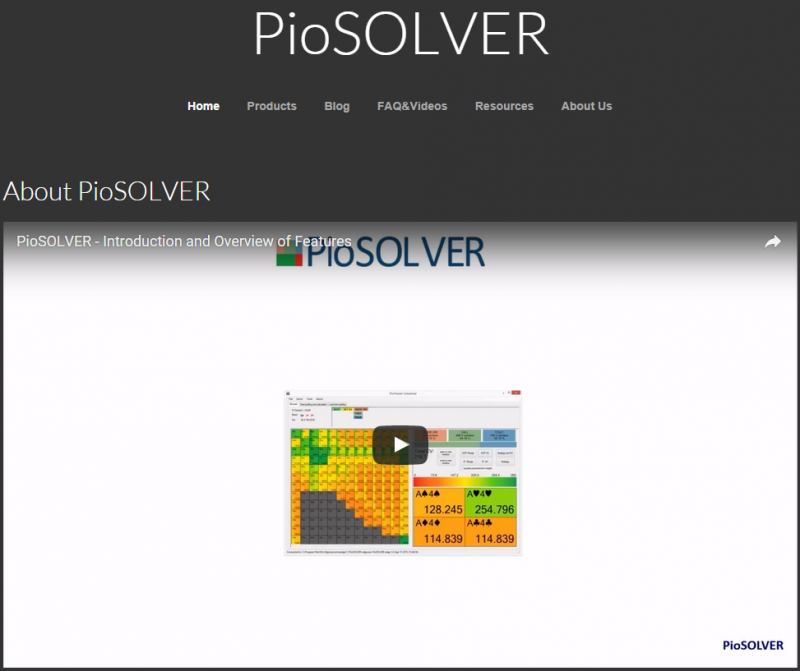 【6upoker】PioSOLVER基础教程 Quick Start