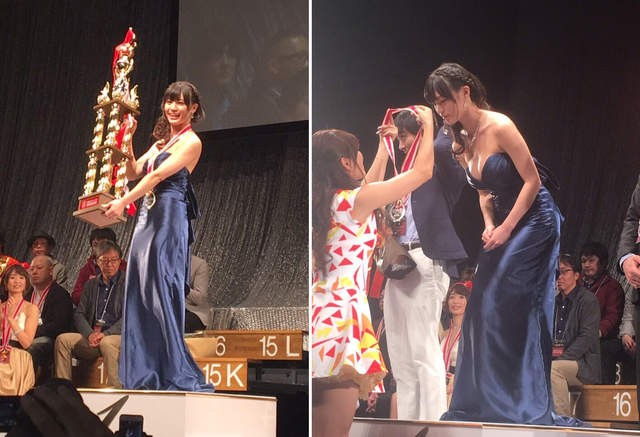 【6upoker】七冠王高桥圣子~2016年艾薇OPEN颁奖典礼最大赢家