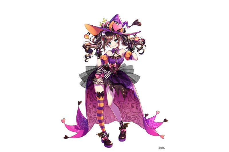 【6upoker】虚拟偶像的万圣节装扮 二次美女绊爱魅力无限