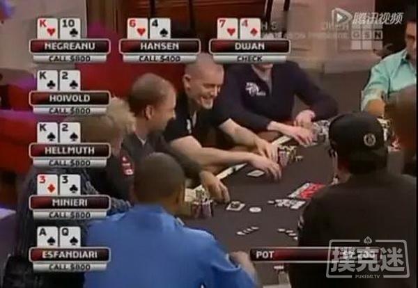 【6upoker】德州扑克牌局分析-Flush Over Flush,你被第二坚果同花坑过吗?