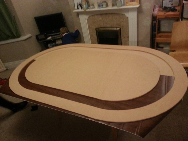 【6upoker】牌手故事:我DIY了一张扑克桌