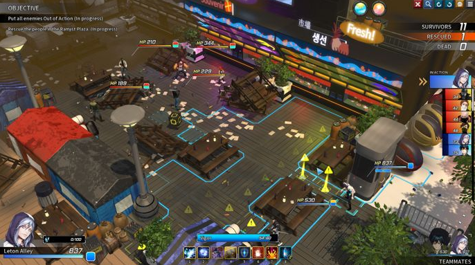 【6upoker】独立战棋游戏《Troubleshooter》 韩系风格玩家喜欢