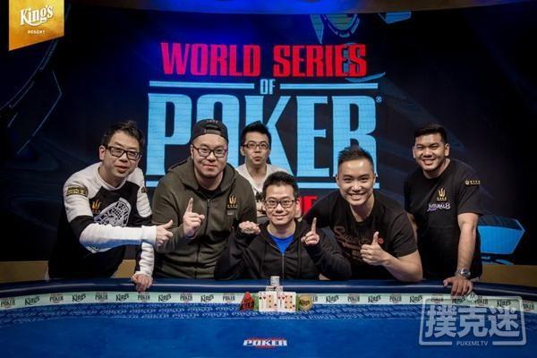 【6upoker】香港选手曾恩盛赢得职业生涯第二条金手链