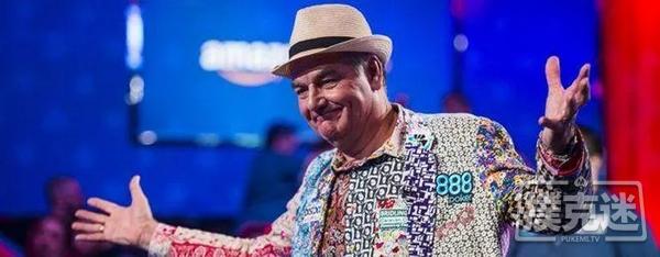 【6upoker】乔大爷在WSOP主赛赢的260万刀仍在银行,分文未取