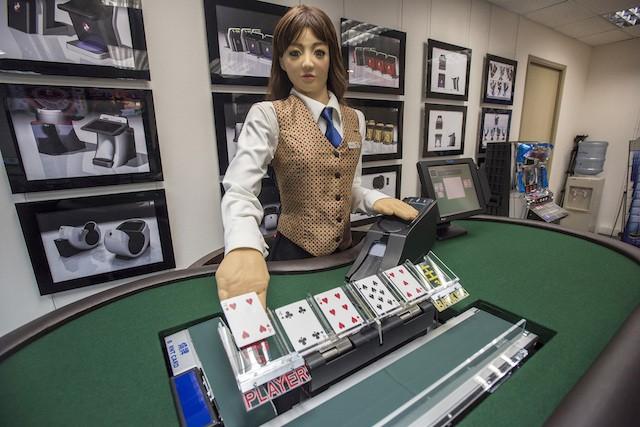 【6upoker】美国扑克室出现机器人荷官