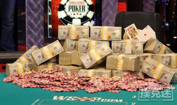 【6upoker】WSOP主赛事打破了2500万的保证金,冠军将独享390万美元