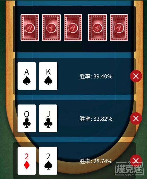 【6upoker】德州扑克中三人翻前全压,你对各自的胜率心里有数吗