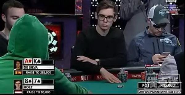 【6upoker】胆儿够肥才敢使出的all in偷鸡   德州扑克牌局分析