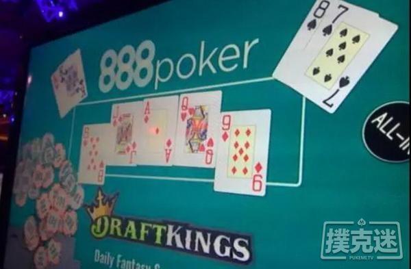 【6upoker】胆儿够肥才敢使出的all in偷鸡 | 德州扑克牌局分析