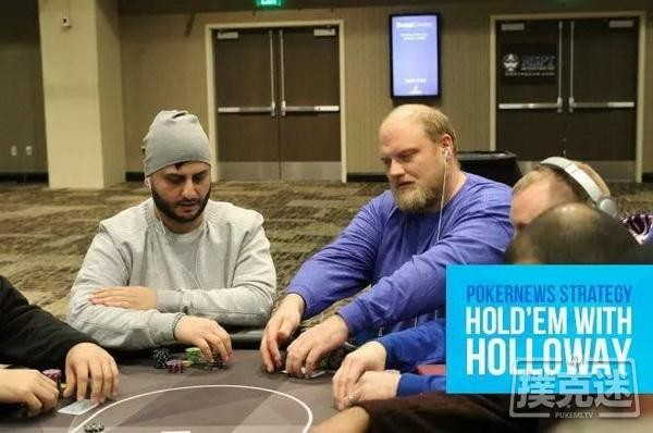 【6upoker】自取灭亡的AA   德州扑克牌局分析
