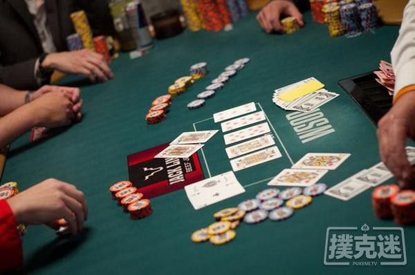 【6upoker】德州扑克中分析德州扑克中的三人全压局面