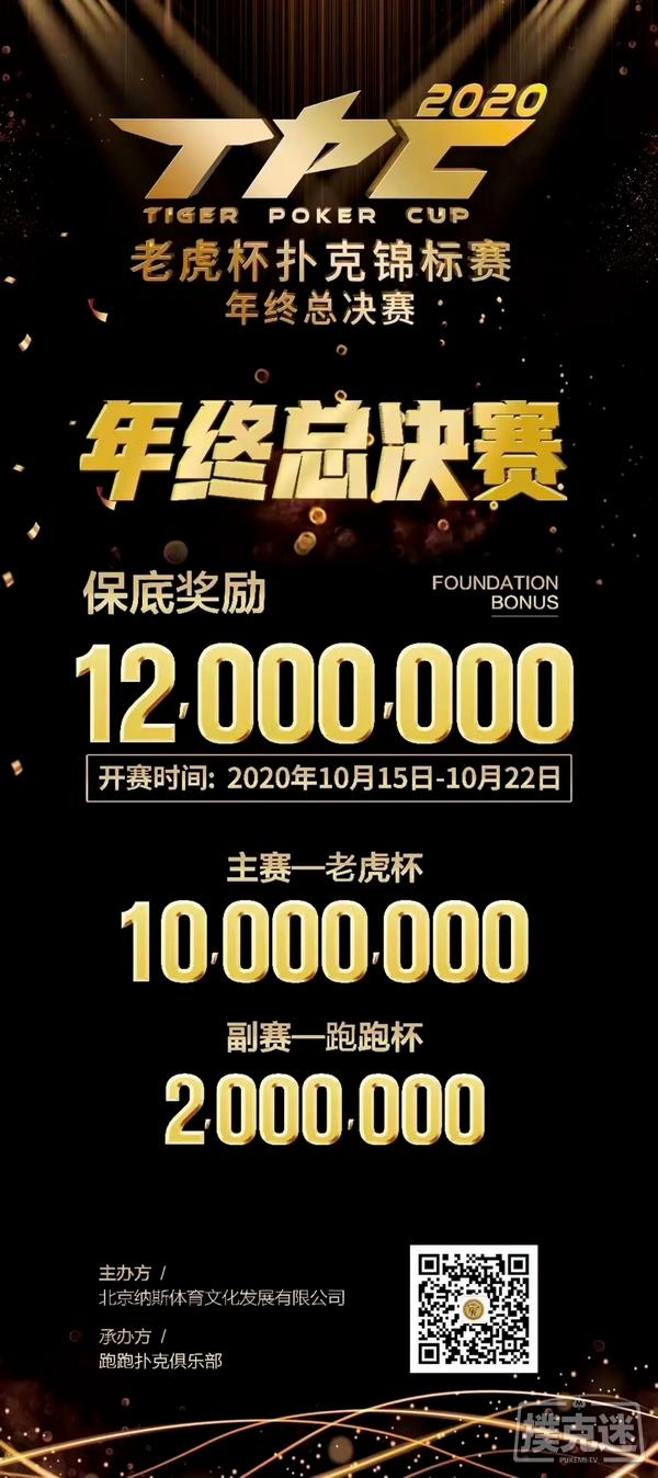 【6upoker】2020 TPC老虎杯年终总决赛冠军金手链惊艳亮相!