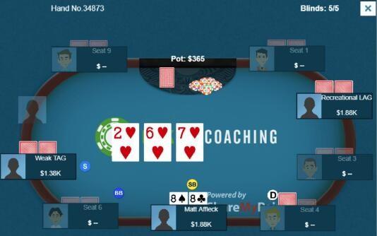 【6upoker】德州扑克尴尬的翻牌圈小高对