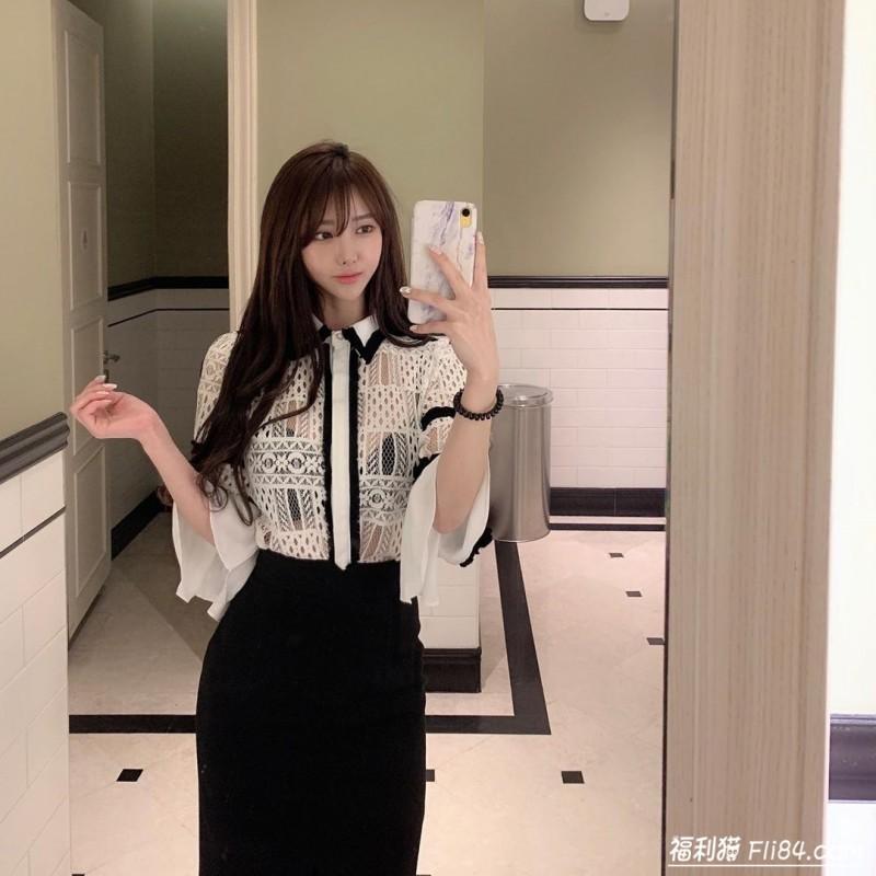 【6upoker】今日妹子图20200318:韩国大胸妹子러블린,上围也太犯规啦!