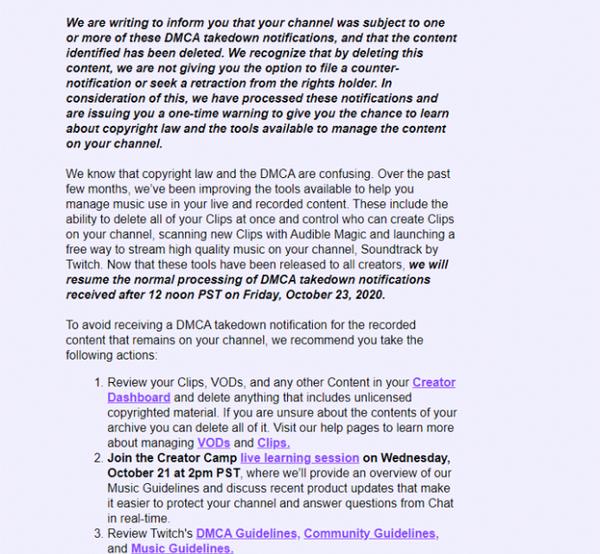 【6upoker】扑克玩家对Twitch DMCA版权罢工做出反应