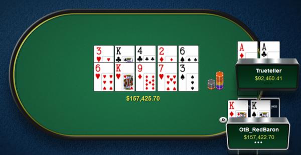 【6upoker】德州扑克Timofey Kuznetsov拿着A-A底牌连续两次被对手碾压