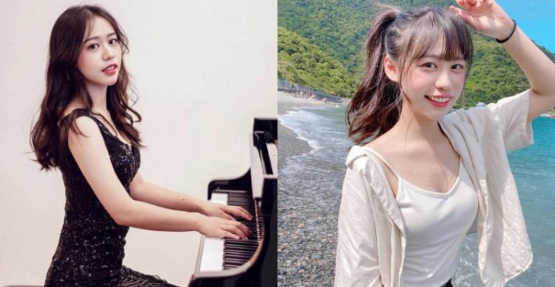 【6upoker】清大音乐研究所「祝晨瑄」气质满分弹钢琴的模样让人恋爱