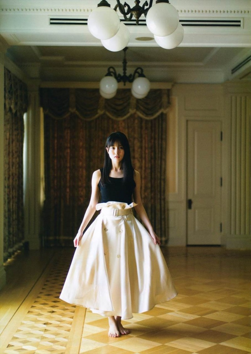 【6upoker】乃木坂46次世代王牌「贺喜遥香」神级美貌不输白石麻衣浑身上下都偏散着仙气啊