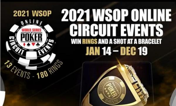 【6upoker】WSOP宣布2021年扩大非现场巡回赛赛季规模