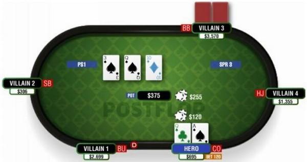 【6upoker】德州扑克顶对顶大踢脚