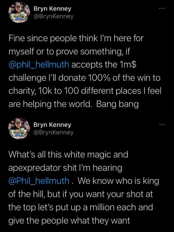 【6upoker】Bryn Kenney向Hellmuth发起单挑战书 Venmo再爆丑闻